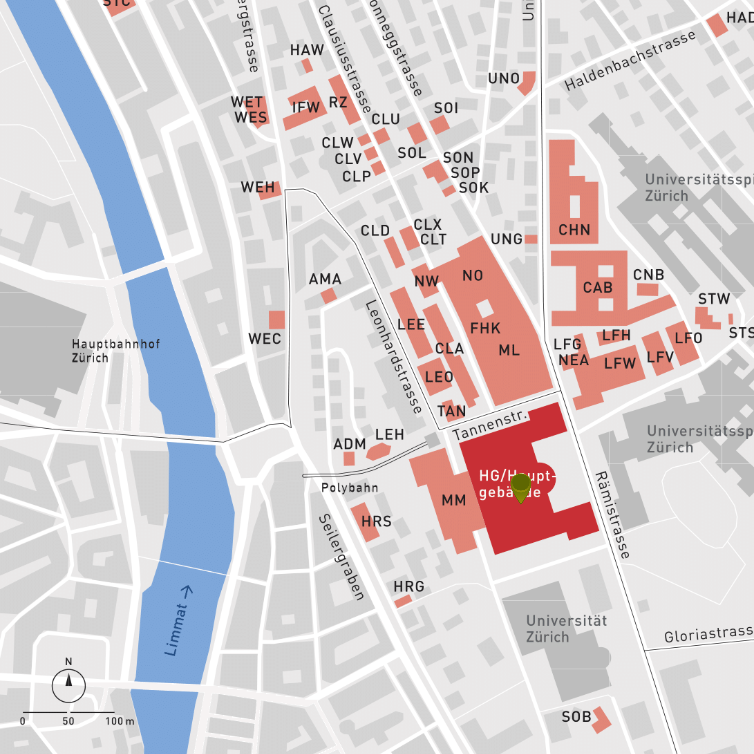 How to find us – Department of Mathematics | ETH Zurich Zurich Hauptbahnhof Map on zurich rail station map, antwerp central station map, zurich germany map, amsterdam central map, zurich airport map, zurich s-bahn map, zurich bahnhof map,